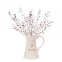 Weihnachten Schneeflocke Kiefer Zweig Künstliche Blume DIY Ornament Home Decor