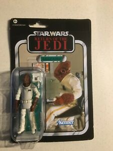 Kenner Star Wars TVC The Vintage Collection VC22 Admiral Ackbar ROTJ Punched MOC