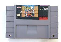 BREAKTHRU Super Nintendo SNES Game - Tested - Working - Authentic!