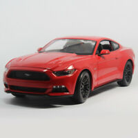 Maisto 1:/18 2015 Ford Mustang GT Diecast Static Alloy Sports Car Model Toys