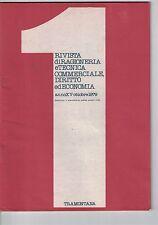 RIVISTA DI RAGIONERIA E TECNICA COMMERCIALE, DIRITTO ED ECONOMIA - N.1 - 10 1979