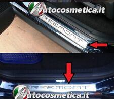 4 battitacchi acciaio satinato/cromo Fiat Freemont Made in Italy