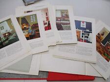 Porte folio ;  Cheminées Vintage;photos ,déco et plans / 36 planches