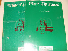 White Christmas Irving Berlin green cover