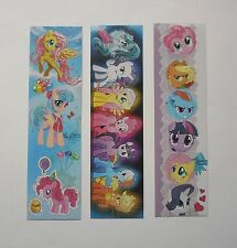 My Little Pony 3pcs Cardboard Bookmarks 6.5'' lenght (16cm).
