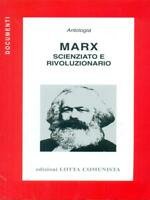 Marx Scientist And Revolutionary Aa.vv. Grappling Communist 2009 Document