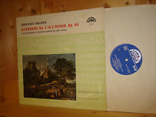 NEW OLD STOCK Brahms Symphony No.1 ANCERL Czech SUPRAPHON STEREO LP UNPLAYED