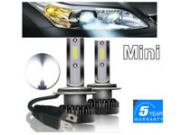 H7 LED Ampoule COB Voiture Feux Phare Lampe Xénon Blanc 110W 6500K anti erreur