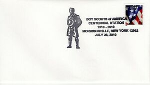 SCOUT CANCEL - BSA CENTENNIAL STATION, MORRISONVILLE, NY  2010  SC799