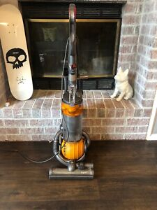 Dyson DC25 Ball Bagless Upright Vacuum Cleaner Yellow Orange