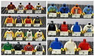 LEGO-1X MINIFIGURE TORSO/CHOOSE YOUR PART/BODY/ARM/GIRL/BOY/GIRL/MAN/WOMAN/CHILD