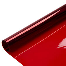 Red Decorative Window Film Glass Tint House Building Glass Sticker cool