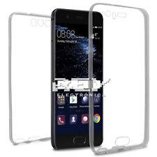 Funda doble silicona Huawei P10 gel TPU transparente 360º S931