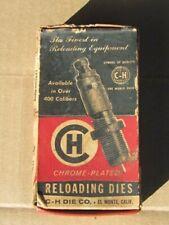 Vintage-C-H Die Company Reloading Dies In Original Box-300 Weatherby