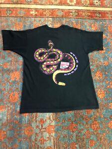 Vintage 90s Marlboro snake T shirt Travis Scott size XL 100% cotton
