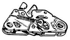 Gancio chiusura posteriore Fiat 131
