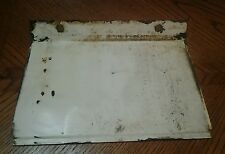 NLA Jacobsen Imperial 830 Ford Snowblower Bottom Cover Drive Plate Shield