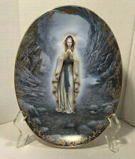Our Lady Of Lourdes Bradford Exchange Limited Edition Porcelain Collector Plate