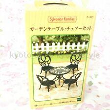Sylvanian Families Calico Critters Jardín Mesa Sillas Set KA-621 62202JP Import