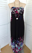 Hand-wash Only Floral Plus Size Maxi Dresses for Women