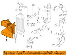 KIA OEM 11-15 Optima 2.0L-L4 Intercooler-Air Guide 282742G100