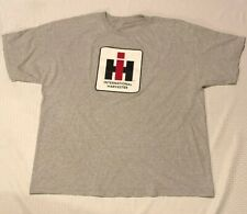 Mens Adult INTERNATIONAL HARVESTER IH Size 2 XL Mens Gray T Shirt