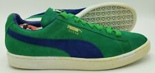 Puma Suede Classic Low Suede Vintage Trainers 350734 48 Green/Blue UK9/US10/EU43