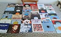 """50 X 1970/80s 7"""" Vinyl Single Records M-Q. EXC/VG Sleeved  SEE 7 Images (LOT 11)"""