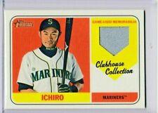 ! Ichiro Suzuki Topps Heritage Baseball Game Used Jersey Card $
