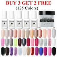10ml NICOLE DIARY Dipping Powder System Liquid Natural Dry Nail Art Starter Kit