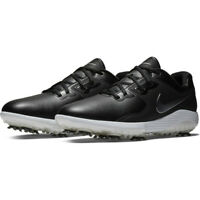 NIKE VAPOR PRO GOLF SHOES - UK 7 & 8 - BLACK/SILVER/WHITE (AQ2197-001)