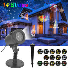 LED Light Laser Projector Landscape Lamp Christmas Decoration Waterproof BP