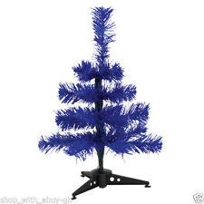 Árboles de Navidad color principal azul