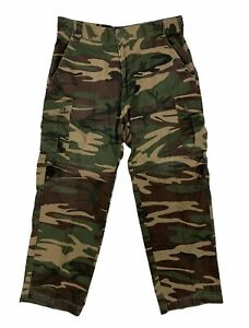 Game Winner Mens Size Medium Camouflage Pants Convertible Shorts Military Cargo