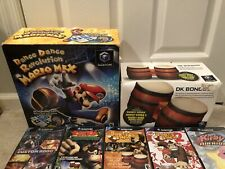 US Nintendo Gamecube Games Bundle with Official DK Bongos