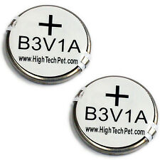 B3V1A Battery 2-Pk for HTP MS-4/MS-5 Collars FACTORY DIRECT From HIGH TECH PET
