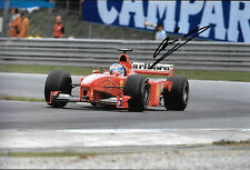 Mika Salo SIGNED 12x8, F1 Scuderia Ferrari F399 , Austrian GP  A1-Ring 1999