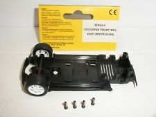 Scalextric - W8664 BMW Mini Cooper Underpan Assembly (White Wheels) - NEW