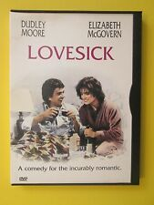 Lovesick Romantic Comedy Dudley Moore Elizabeth McGovern Alec Guiness