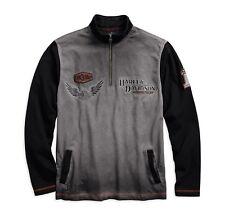 Harley-Davidson Men's Iron Block 1/4-Zip Pullover Gr. XL  Herren Sweater