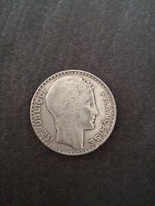 Pièce Argent 20 Francs Turin 1929