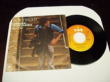 """BOB DYLAN """"CHANGING OF THE GUARDS/NEW PONY"""" 7"""" 45 PS CBS GERMAN PRESS 1978 ROCK"""