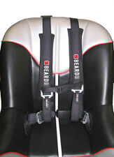 BEARD SAFETY HARNESS 3X3 W/PADS, LATCH AND LINK BUCKLE