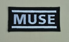 patch, MUSE, chanteur , broder et thermocollant 9/4cm