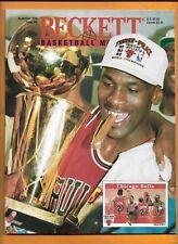 1990 - 1993 Beckett Michael Jordan with 5 card lot Chicago Bulls / UNC GOAT