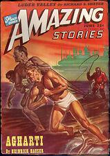"Amazing Stories SciFi Pulp June 1946 ""Luder Valley"" by Richard S Shaver, Kohn cv"