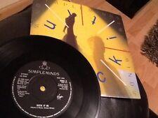 "Simple Minds. patear en/bordeando (Remix). 1989. 7"" Vinilo Casi Nuevo"