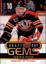 2009-10 (BLACKHAWKS) Upper Deck Draft Day Gems #GEM8 Dominik Hasek