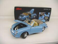1:18 Schuco Porsche 356 A Cabriolet blue blau 450031100  NEU NEW