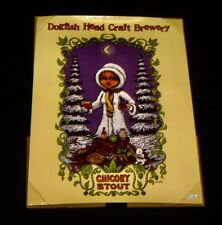 Marq Spusta CHICORY STOUT Dogfish Head Brew Goddess Series POSTER 24 x 18 Beer